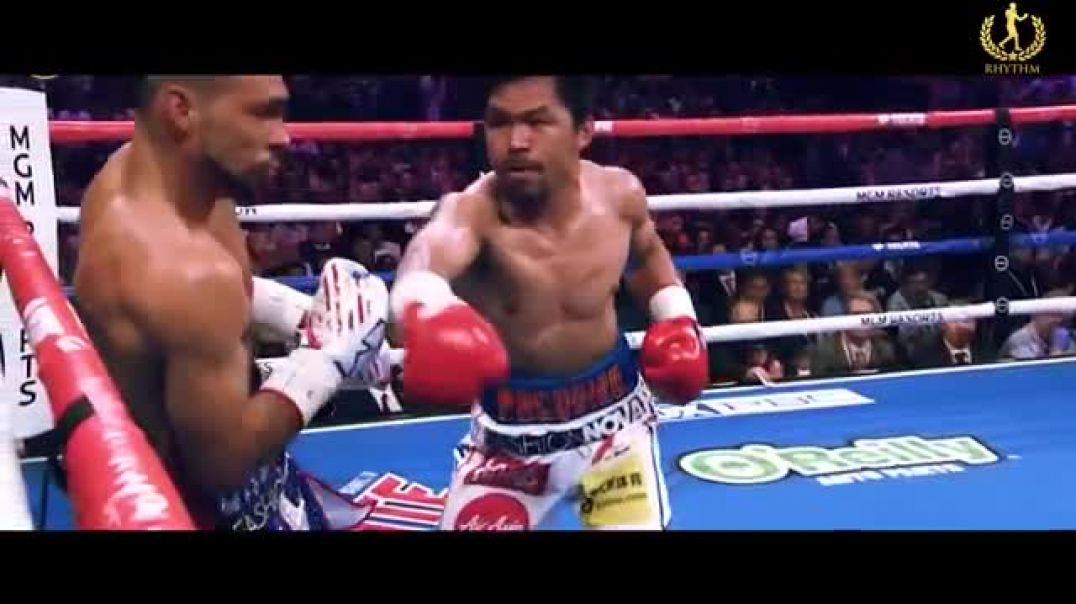 When Manny Pacquiao goes into DEMON MODE! The Filipino SPEED demon!