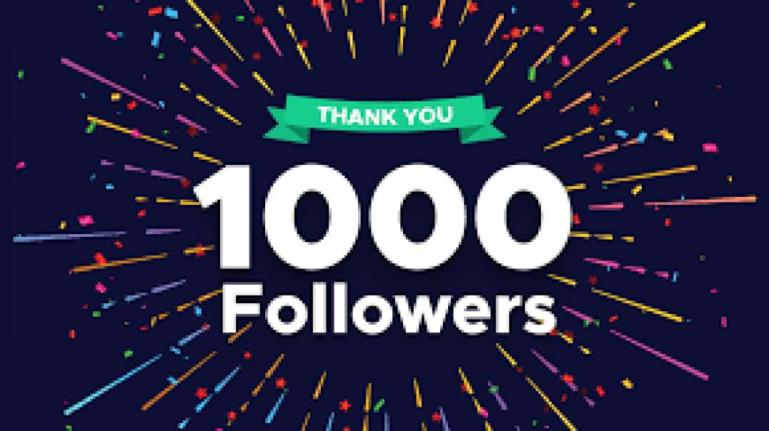 1000 FOLLOWERS IN HOUR(BOOST YOUR SM)