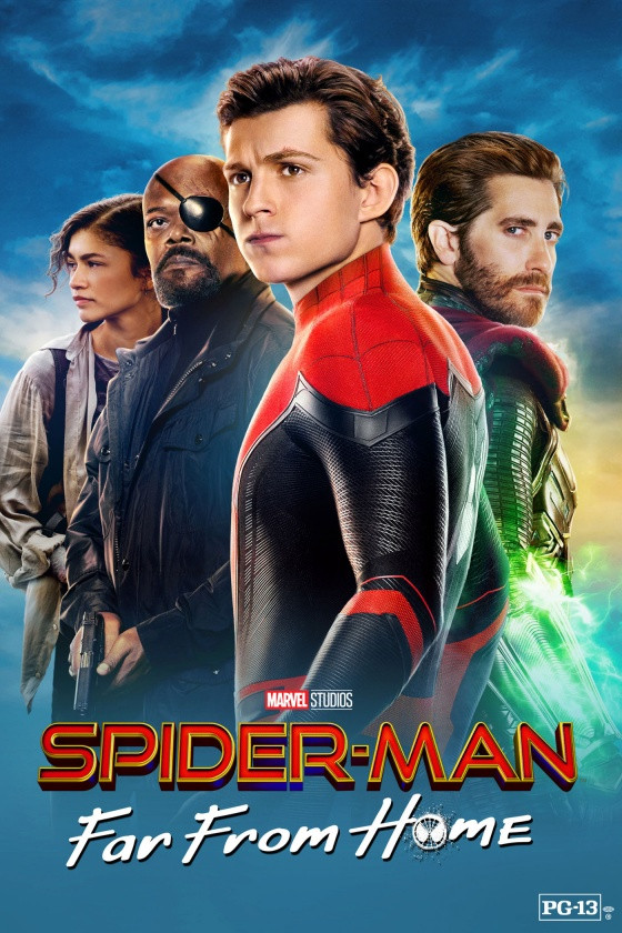 SPIDERMAN FAR FROM HOME (2019)